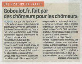 Mise en place du site web GoBoulot !