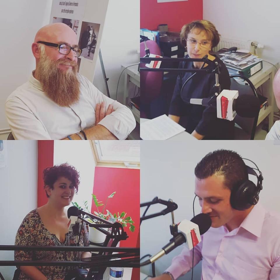 Enregistrement d'une interview avec la CPME, l'AGEFOS PME et nos apprenants