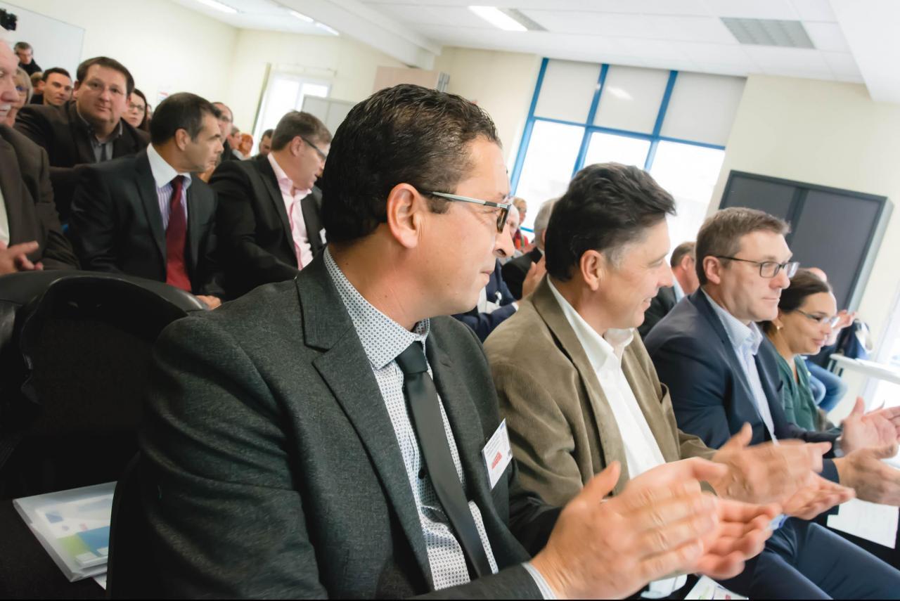Les invités pour le lancement de Goboulot
